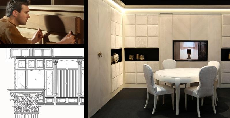 centro del rustico la maison mobili su misura in legno